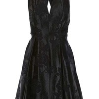 Twist Jacquard Prom Dress - Dresses - Clothing