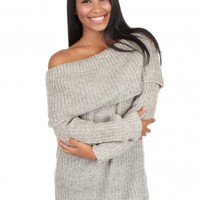 Peace Of Mind Sweater in Taupe   Monday Dress Boutique