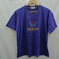 Vintage 90s Gucci Purple T Shirt
