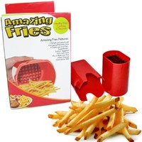 French Fry Fries Fry Cutter Potato Chip Vegetable Slicer Kitchen Tool Blade Gift