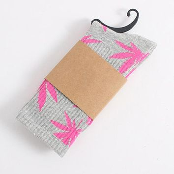 Pot Leaf Socks - High-Quality Cotton