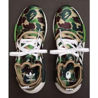 Tagre™ Adidas NMD_R1 BAPE Camouflage Fashion Trending Running Sports Shoes