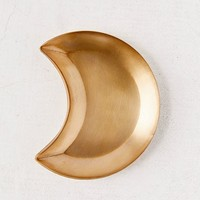 Metal Half-Moon Catch-All Dish | Urban Outfitters