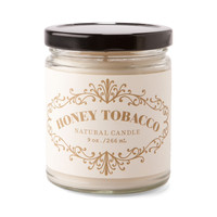 Apothecary Candle Honey Tobacco 9oz.
