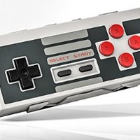 8Bitdo Bluetooth Wireless Classic NES Controller for iOS and Android Gamepad - PC Mac Linux