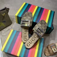 GUCCI GG Women Sandals