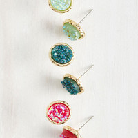 Glimmer All You Got Earring Set in Bright Tones | Mod Retro Vintage Earrings | ModCloth.com
