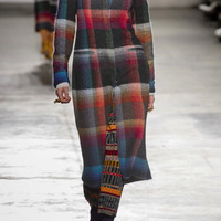 Missoni - Checked mohair-blend coat
