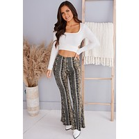 Born With Sass Long Sleeve Crop Top (Ivory)