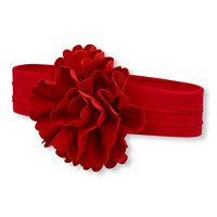 Baby Girls Velvet Rosette Headwrap | The Children's Place
