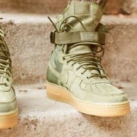 Nike Special Forces Air Force 1 High 859202-339 Boots Green I