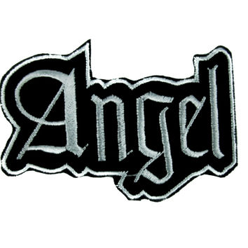 Sexy Angel Patch Iron On Applique Alternative Clothing Bad Girl