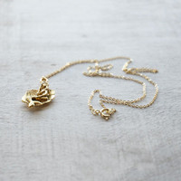Mermaid Shell Charm Necklace