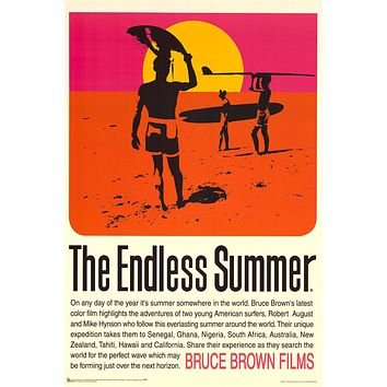 """Poster: The Endless Summer (24""""x36"""")"""