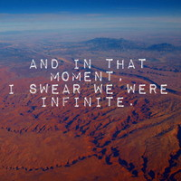 And in That Moment, I Swear We Were Infinite Art Print by Josrick | Society6
