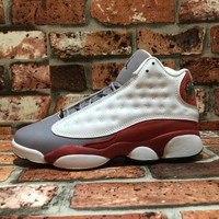 Air Jordan 13 Retro Grey Toe 414574-126 US 5.5-13