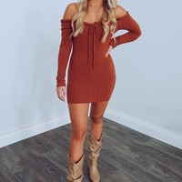 Forever With You Dress: Rust