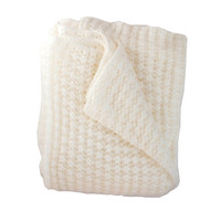 Claire Cream Knit Throw