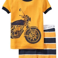Old Navy Motorcycle Graphic PJ Sets For Baby