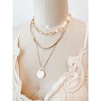 Ryla Layer Coin Necklace
