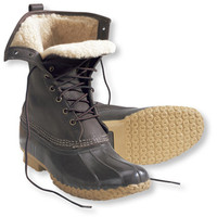 Women's Bean Boots by L.L.Bean and reg;, 10 and quot; Shearling-Lined: Winter Boots | Free Shipping at L.L.Bean