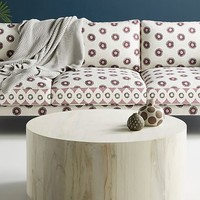 Swirled Drum Coffee Table, Small