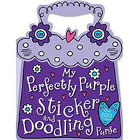 Perfectly Purple Sticker Book