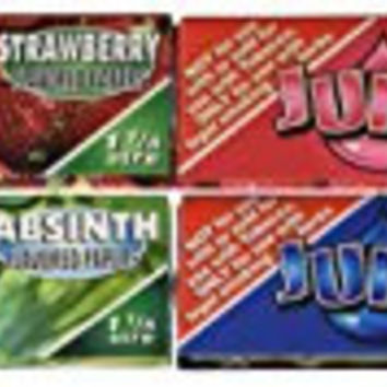 8 booklets x JUICY JAY'S MIXED 1 1/4 Flavoured Cigarette papers