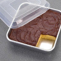 "Square 9"" Cake Pan with Lid"