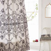 Pattern State For DENY Butterfly Paper Shower Curtain- Black & White One