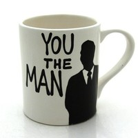 You The Man Mug Gift For Him by LennyMud on Etsy