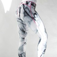 Hot Sale Stylish Sexy Print Sportswear Pants [152638062617]