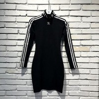 Adidas Originals X Hu Hiking Slim Long-sleeve Dress