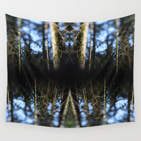 Trees Forest Art  - Hanging Tapestry - Wall Tapestry - Photography Art Trees Forest - Large Wall Photograph - Home Decor - Made to Order