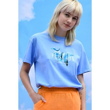 Swim with The Dolphins Oversized Tee by Daisy Street