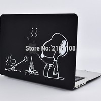 """Protective Cover Matte Hard Case Cute Cartoon Design Carry Shell Coque for Macbook Air 11 13"""" Pro 12"""" 15"""" A1502 A1278 A1466"""