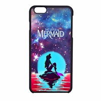 In The Moonlight Nebula Space Ariel The Little Mermaid iPhone 6 Case
