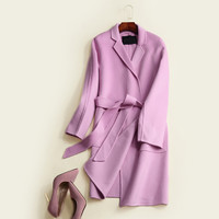 Winter Handcrafts Double Sided Cashmere Jacket [9036956748]