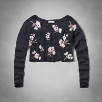 Monica Cropped Sweater