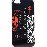 Twenty One Pilots iPhone 6 Case