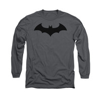 Batman Hush Logo Mens Long Sleeve T-Shirt