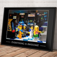 Awesome Arcade Poster