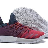 Adidas Harden Vol. 2 Wine Red Basketball Shoes US7-11.5