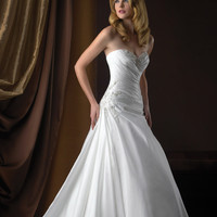 Allure Bridals Romance 2358 Taffeta Wedding Dress