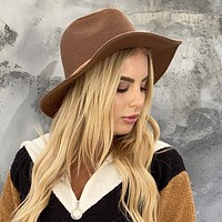 Rodeo Ties Camel Wool Hat