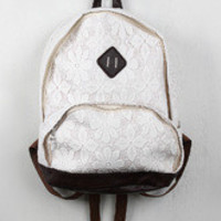 Crochet Lace Backpack