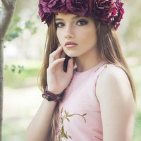 Theodora Flower Crown-Halo-Bridal-photography-flower halo
