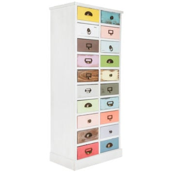 White Cabinet with Bright Drawers   Hobby Lobby   1029875