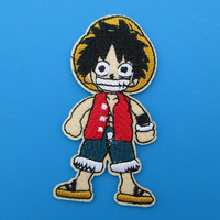 Iron-on Embroidered Patch ONE PIECE 3.1 inch
