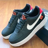 Nike casual flats air force one flagship